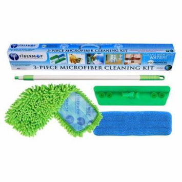DSD Group Fibermop 4 Piece Microfiber Mop Cleaning Kit