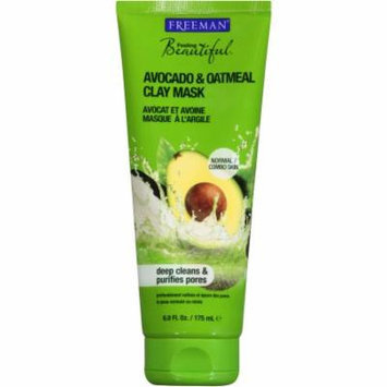 Feeling Beautiful Avocado & Oatmeal Facial Clay Mask, 6 fl oz