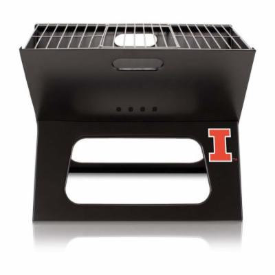 NCAA Illinois Fighting Illini Portable Charcoal X-Grill