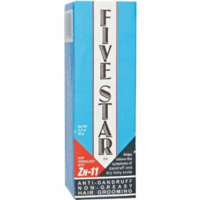 Sulfur8 Five Star Anti Dandruff Non Greasy Hair Grooming, 3.5 oz