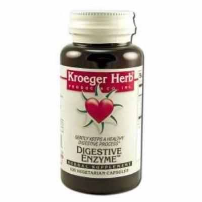 Digestive Enzyme Kroeger Herbs 100 VCaps