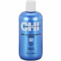 CHI Ionic Color Protector System 1 Shampoo, 12 oz