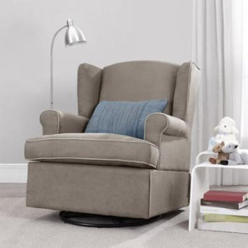 Baby Relax Colby Swivel Glider, Dark Taupe
