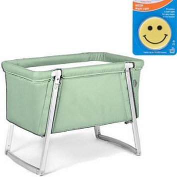 Babyhome Dream Bassinet - Mint with Night Light