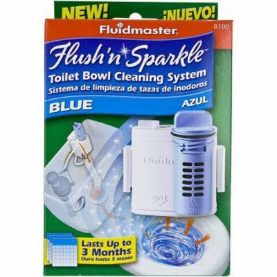 Fluidmaster 8100P8 Flush 'N' Sparkle Toilet Bowl Cleaning System