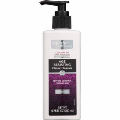 Equate Beauty Age Resisting Classic Cleanser, 6.78 fl oz