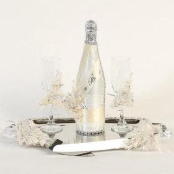 Angels Garment Ivory Cream 5 pcs Nuestra Boda Champagne Set