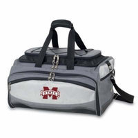 Mississippi State Buccaneer Tailgating Embroidered Cooler (Black)