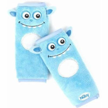Nuby Monster Strap Covers, Blue