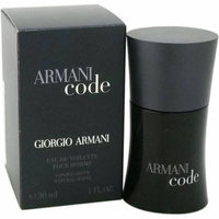 Giorgio Armani Code for Men Eau de Toilette Spray, 1 oz