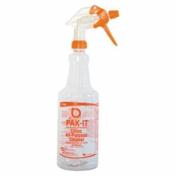 Cleaner Solutions 578420004012 Color-coded Trigger-spray Bottle, 32 Oz, Orange: Citrus All-purpose Cleaner