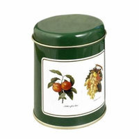 Decorated Spice Tins Round