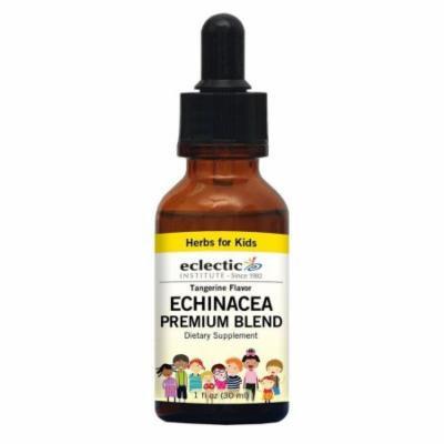 Kids Echinacea Premium Blend-Tangerine No Alcohol Eclectic Institute 1 oz Liquid
