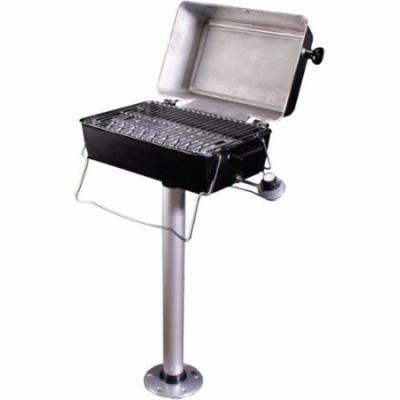 Springfield Dlx Propane Pedestal Grill with Thread-Lock