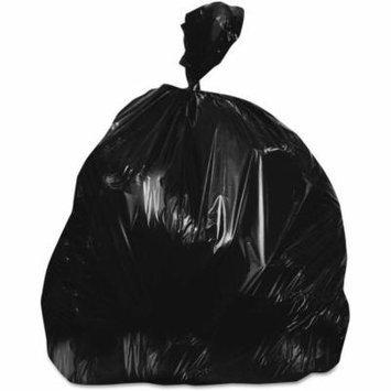 Boardwalk Black Low-Density Trash Bags, 33 gal, 10 count, 25 rolls