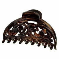 Camila Paris CP1822 3 inch Tortoise Shell Hair Clips Spring Cover - Pack Of 4