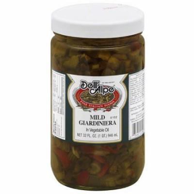 Dell' Alpe Mild Giardiniera, 32 fl oz, (Pack of 6)