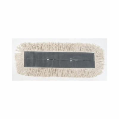 UNISAN Cut-End Dust Mop Head in White