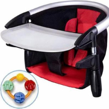 Phil & Teds Lobster Highchair with Click Clack Balls Teether Red/Black
