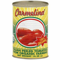 Carmelina Italian Peeled Organic Tomatoes, 14.28 oz (Pack of 12)