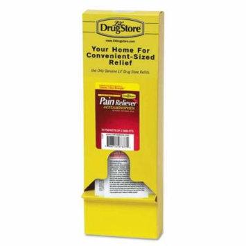 Lil' Drug Store Acetaminophen Single-packs Refill - Headache, Fever, Muscular Pain, Backache, Arthritis, Premenstrual Cramp, Menstrual Cramp - 50 / Box (97257)