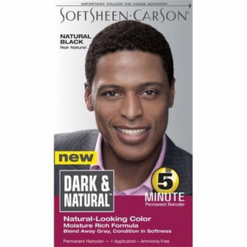 DDI Dark And Natural Hair Color Men Natural Black- Case of 12