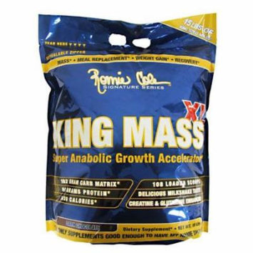 Ronnie Coleman Signature Series, King MASS-XL Super Anabolic Growth Accelerator, Dark Chocolate, 15 Pound
