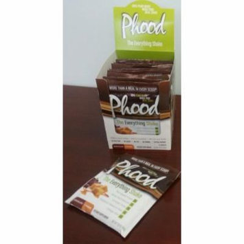 Phood Shake Chocolate Caramel Box PlantFusion 12 ct Packet