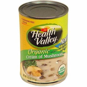 Health Valley Cream Of Mushroom Soup, 14.5 oz (Pack of 12)