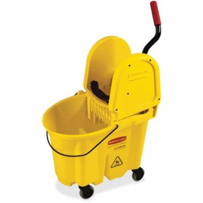 Rubbermaid WaveBrake Down Press Combo Mop Bucket & Wringer