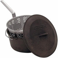 Camp Chef Cast Iron Pot with Fry Basket