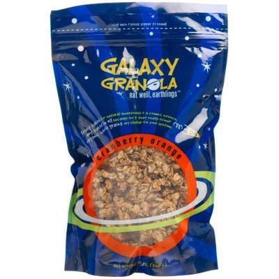 Galaxy Granola Cranberry Orange, 12-Ounce Pouch (Pack of 6)