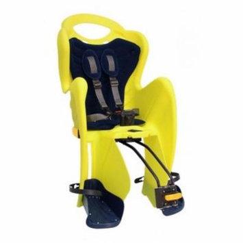 Mamma Cangura Mr. Fox Relax - Rear Child Bicycle Carrier - Hi Viz