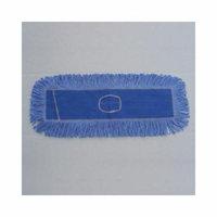 UNISAN 24'' x 5'' Looped End Dust Mop Head in Blue