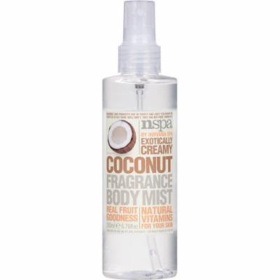 NSPA Exotically Creamy Coconut Fragrance Body Mist, 6.76 fl oz