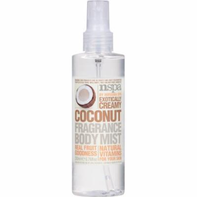 NSPA Exotically Creamy Coconut Fragrance Body Mist, 6.76 fl oz