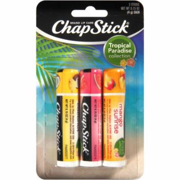 ChapStick® Tropical Paradise Collection Lip Balm Variety Pack, .15 oz, 3 count