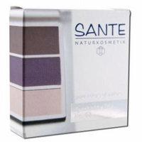 Eyeshadow Trios Aubergine 02 Sante 5 gm Powder