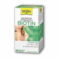 Biotin 10,000 mcg Natural Balance 60 VCaps