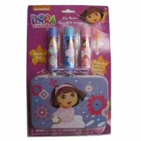 Nickelodeon Girls Dora the Explorer Balm & Tin Cosmetic Accessory