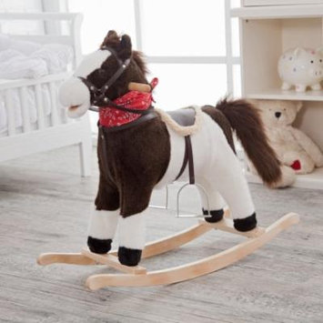 Charm Pinto Rocking Horse with Movement and Sounds