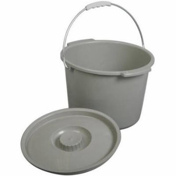 Medline Replacement Commode Bucket With Lid
