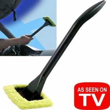 Handy EZ Windshield Wiper with Long Handle and Pivoting Head