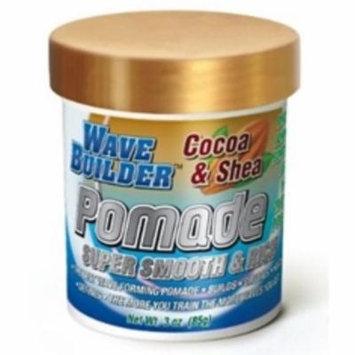 WaveBuilder Cocoa & Shea Super Smooth & Rich Pomade, 3 oz