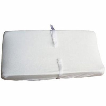 Colgate White Color Terry Cloth Contour Changing Pad Cover
