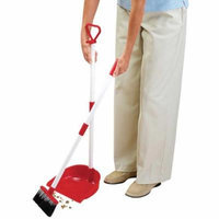 Miles Kimball Long Handled Dust Pan with Broom