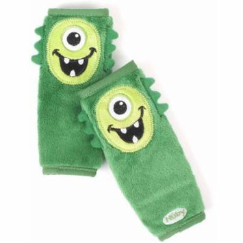 Nuby Monster Strap Covers, Green