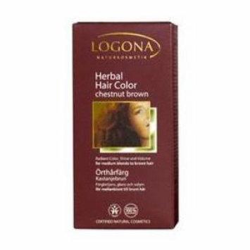 Logona - Hair Color, Chestnut Brown, 3.5 oz