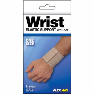 Flex Aid Elastic Wrist Support with Loop, One Size