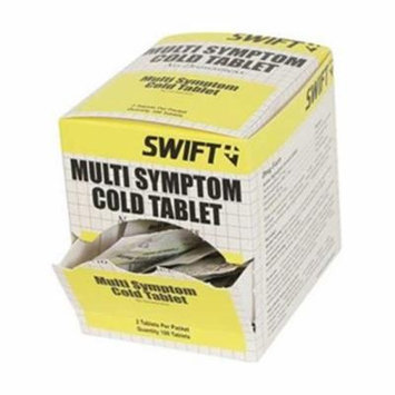 Multi-Symptom Cold Tablets, Pk 100